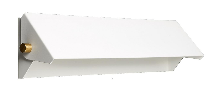 Applique murale rectangle 35cm blanc o37cm h8cm daniel gallo normal