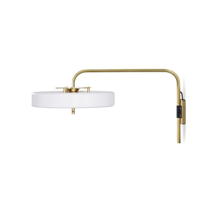 Revolve   applique murale wall light  bert frank revolve wall light white  design signed 36049 product