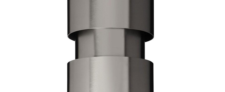 Applique murale ring argent o12cm h30cm cto lighting normal