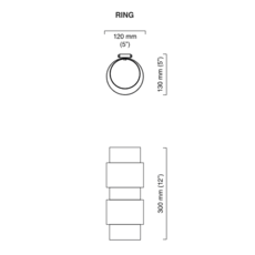 Ring  applique murale wall light  cto lighting cto 07 095 0003  design signed 51250 thumb