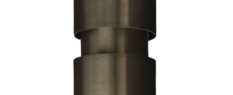 Applique murale ring bronze o12cm h30cm cto lighting normal