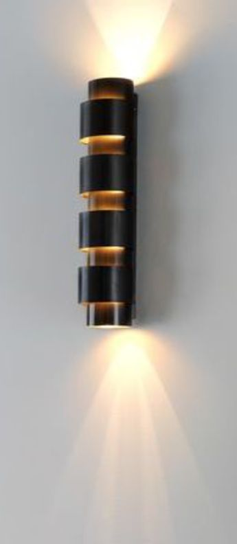 Applique murale ring tall bronze o12cm h54cm cto lighting normal