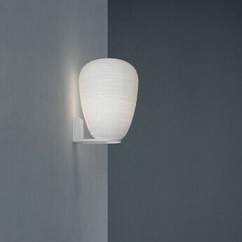 Applique murale rituals 1 blanc l24cm h34cm foscarini normal
