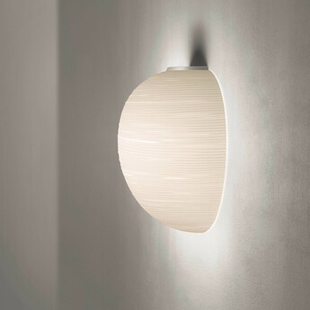 Applique murale rituals xl semi blanc l40cm h41cm foscarini normal