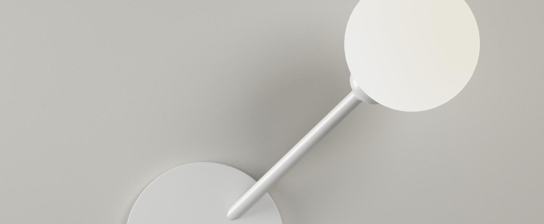 Applique murale row blanc o8cm h29cm atelier areti normal
