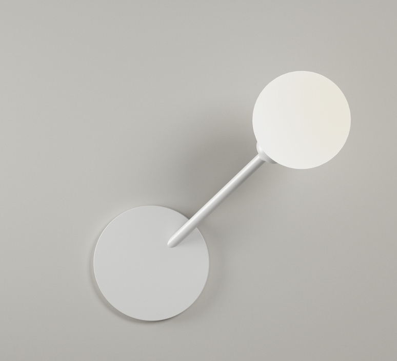 Row  applique murale wall light  atelier areti row blanc  design signed 51331 product