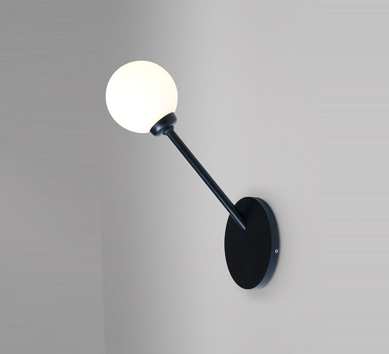 Row  applique murale wall light  atelier areti row noir  design signed 51334 product