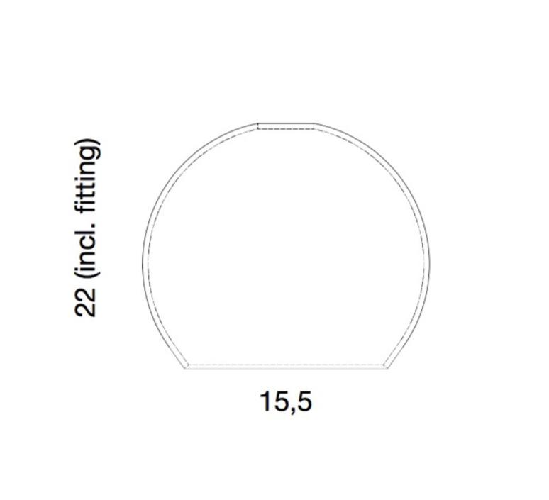 Rowan susanne nielsen ebbandflow la101548w  luminaire lighting design signed 21301 product