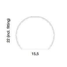 Rowan susanne nielsen ebbandflow la101548w  luminaire lighting design signed 21301 thumb