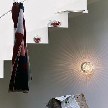 Applique murale royal avec bobeche clair finition doree ip44 o11cm h15cm saint louis normal