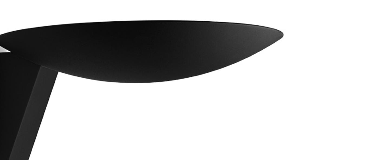 Applique murale scava noir led 2700k 1100lm l20cm h8 5cm wever ducre normal