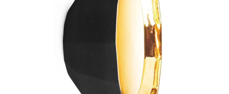 Applique murale scotch club 30 noir et or o30cm h14 7cm marset normal