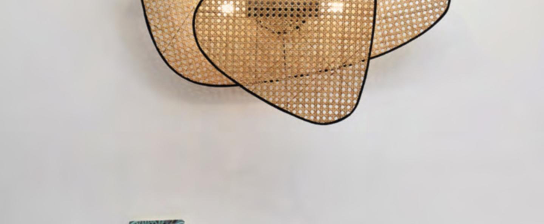 Applique murale screen jaune o77cm h59cm market set normal