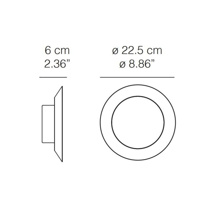 Shine moreno de giorgio applique murale wall light  karboxx 20sp11fl 21pa01lw  design signed 56461 product