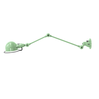 Applique murale signal 2 bras si371s interrupteur vert eau mat industrielle o10cm h30 17cm jielde copy of si371 1003 normal