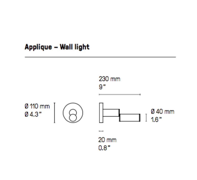 Signal  applique murale wall light  cvl signal wall  design signed 53533 product