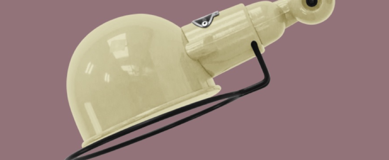Applique murale signal sans bras ivoire l28cm h15cm jielde normal