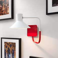 Sister enrico azzimonti zava sister applique carmine red 3002 luminaire lighting design signed 17557 thumb