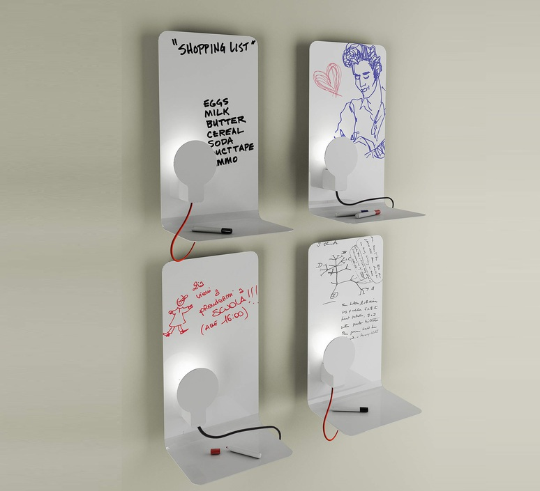 Sketch enrico azzimonti zava skech l blanc 9010 red rayon luminaire lighting design signed 22654 product