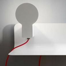 Sketch enrico azzimonti zava skech shelf blanc 9010 red rayon luminaire lighting design signed 17388 thumb