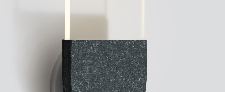 Applique murale slab w20 dali noir led 2700k 105lm l16 5cm h27 5cm andlight normal