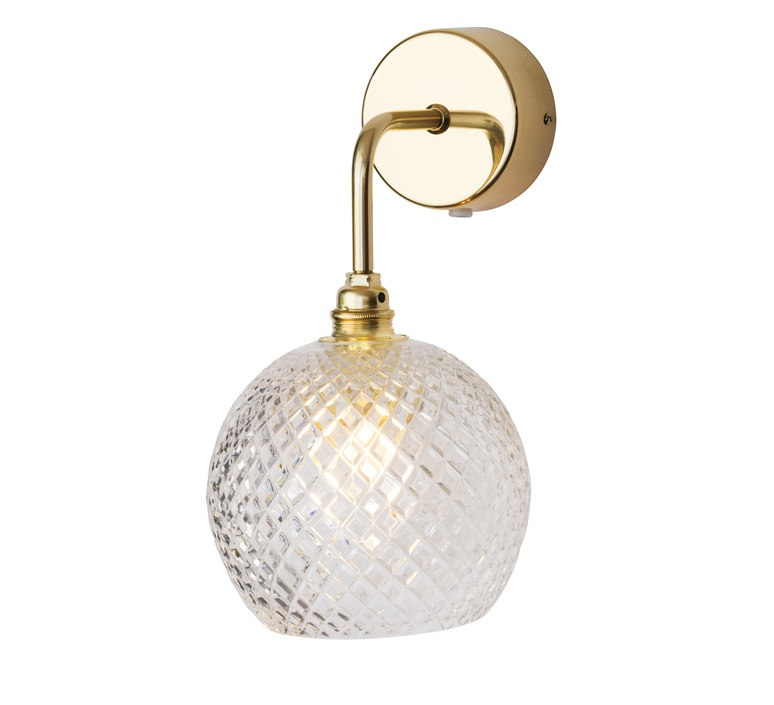 Small check crystal rowan susanne nielsen applique murale wall light  ebb and flow la101520w  design signed nedgis 73023 product