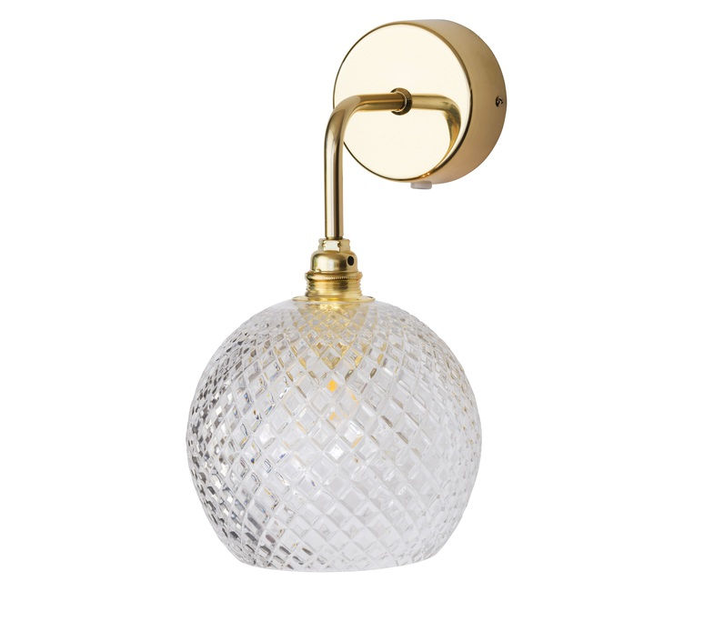 Small check crystal rowan susanne nielsen applique murale wall light  ebb and flow la101520w  design signed nedgis 73024 product