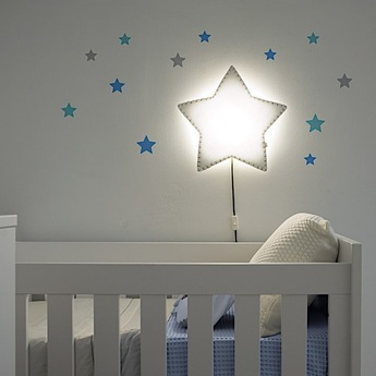 Applique murale soft light blanc gris led o46cm h48cm buokids 8436572780897 normal