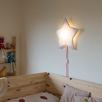 Applique murale soft light blanc rose led o46cm h48cm buokids 8436572780859 normal