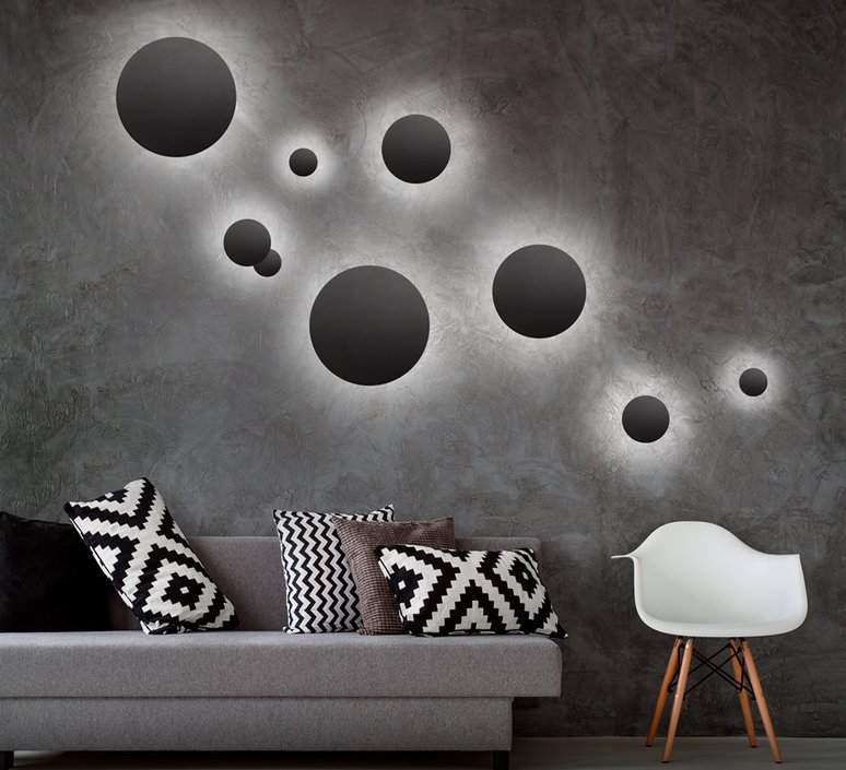 Soho w2 ronni gol applique murale wall light  light point 256361  design signed 41109 product