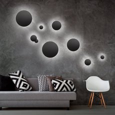 Soho w2 ronni gol applique murale wall light  light point 256361  design signed 41109 thumb