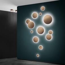 Soho w2 ronni gol applique murale wall light  light point 270152  design signed nedgis 96223 thumb