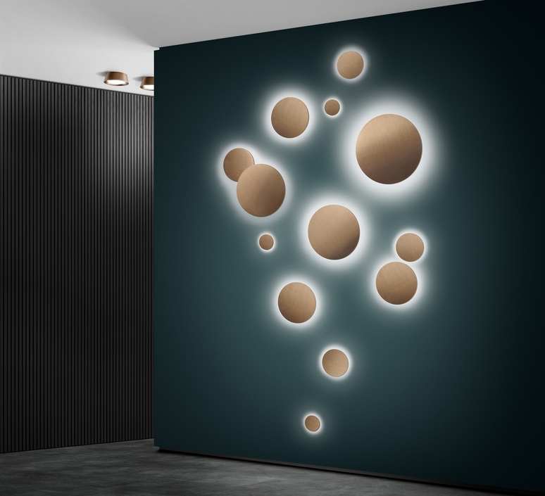 Soho w3 ronni gol applique murale wall light  light point 270162  design signed nedgis 96230 product
