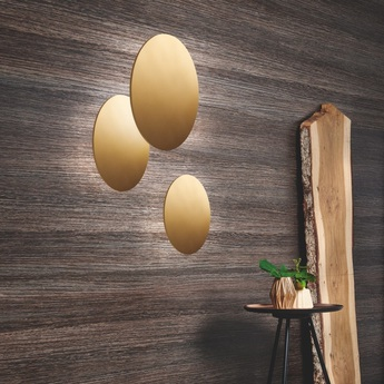Applique murale soho w4 or led o40cm p40cm light point normal