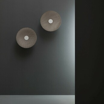 Applique murale spin bo bronze led 3000k l41 5cm h41 5cm fabbian normal