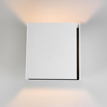 Applique murale split medium blanc noir h16cm modular normal