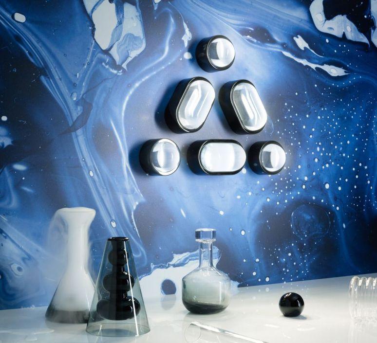 Spot round tom dixon applique murale wall light  tom dixon spow03beu  design signed 48667 product
