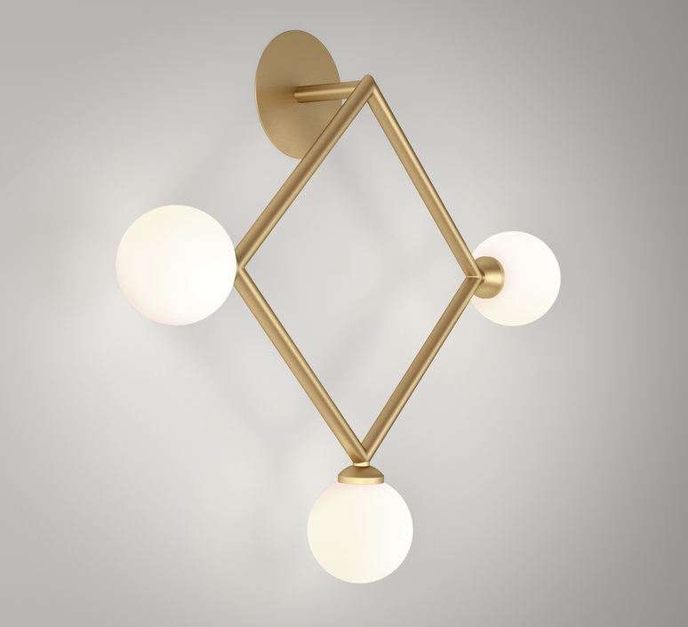 Row  applique murale wall light  atelier areti row laiton  design signed 54925 product