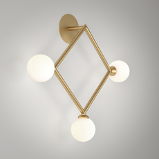 Row  applique murale wall light  atelier areti row laiton  design signed 54925 thumb