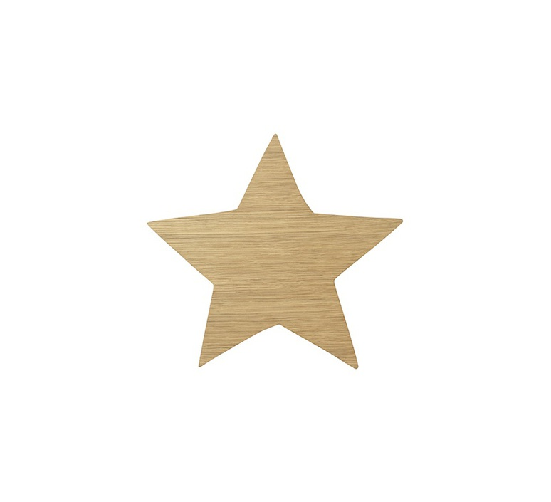 Star lamp trine andersen applique murale wall light  ferm living 100153 208  design signed nedgis 64178 product