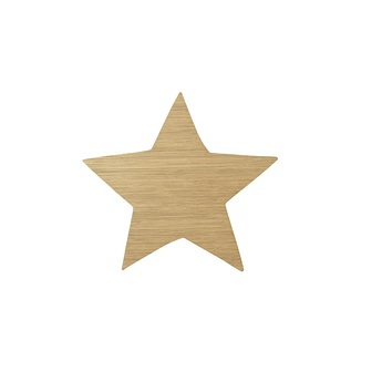Applique murale star lamp chene l29 8cm h33cm ferm living 6747b893 84d0 40ba 9d17 854eb31983d5 normal