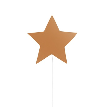 Applique murale star lamp moutarde l29 8cm h33cm ferm living normal