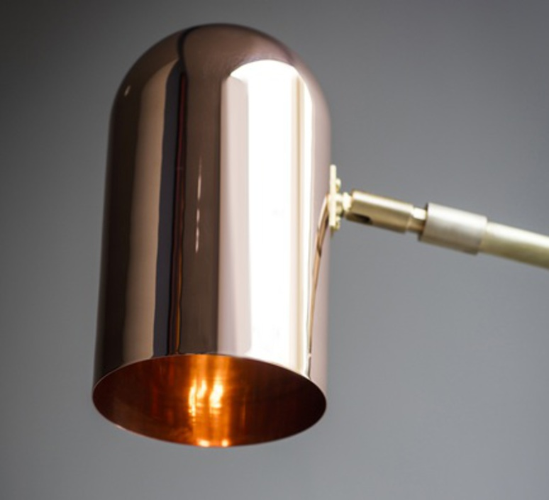 Stasis robbie llewellyn adam yeats applique murale wall light  bert frank stasis wall brass satin polish copper  design signed nedgis 64957 product