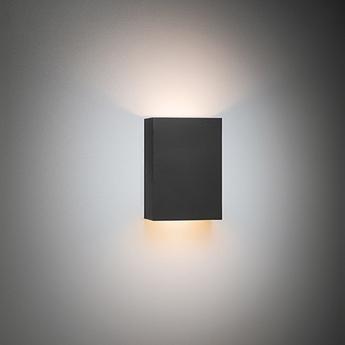 Applique murale sulfer led tre dim gi noir led 2700k 312lm l9cm h13cm modular normal