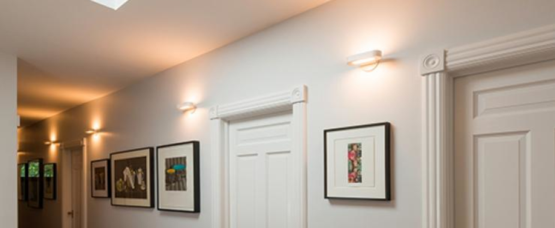 Applique murale talo blanc led 2700k 1344lm dimmable l21cm h4 2cm artemide normal