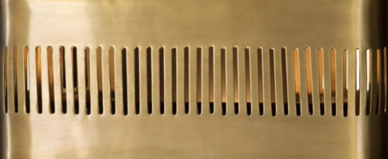 Applique murale tarya noir l25cm h18 5cm gong normal