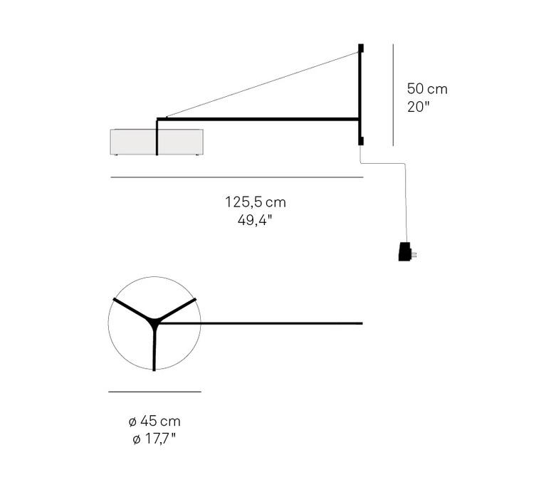 Thesis ramon esteve studio applique murale wall light  lzf thes a bn led dim 21  design signed nedgis 76170 product