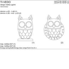 Ti vedo matteo ugolini karman ap105 1b int luminaire lighting design signed 20271 thumb