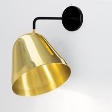 Tilt wall jjoo design nyta tilt wall brass 1 1 0 luminaire lighting design signed 22739 thumb