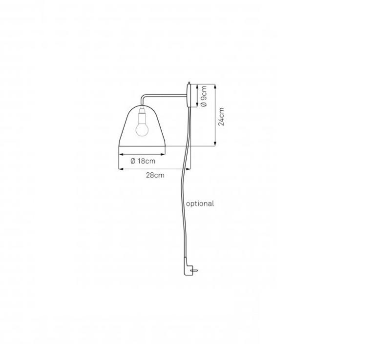 Tilt wall jjoo design nyta tilt wall brass 1 1 0 luminaire lighting design signed 22744 product